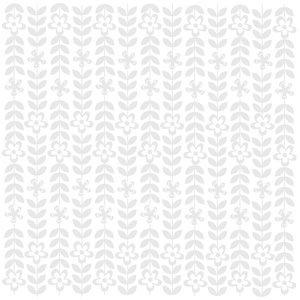 Bazzill Basics - 12 x 12 Glazed Cardstock - Daisy Chain - Bazzill White