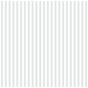 Bazzill - 12 x 12 Glazed Cardstock - Stripe - Bazzill White