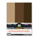 Bazzill - Monochromatic Trio Packs - 8.5 x 11 - Java
