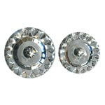 Bazzill Basics - Nostalgic Collection - Buttons - Bling - Clear, CLEARANCE