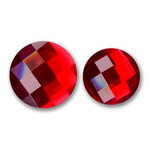 Bazzill Basics - Baubles Collection - Bling - Circle - Ruby