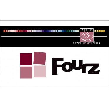 Bazzill Basics - Swatch Book - Fourz