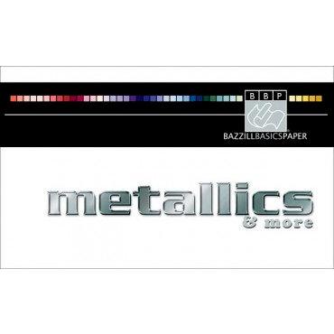 Bazzill - Swatch Book - Metallic