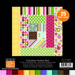 Bazzill Basics - Grandma's Feather Bed Collection - 12 x 12 Assortment Pack