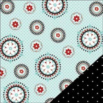 Bazzill Basics - Worth Remembering Collection - 12 x 12 Double Sided Paper - Medallion Table Cloth