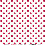 Bazzill Basics - Love Story Collection - 12 x 12 Double Sided Paper - Red Love Potion