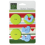 Bazzill - Button Stackers - Bird