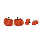 Bazzill Basics - Halloween - Cardstock Shapes - Fall Pumpkins