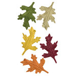 Bazzill Basics - Cardstock Shapes - Oak Leaves
