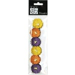 Bazzill Basics - Halloween - Paper Flowers - Poppies Traditional