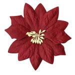 Bazzill - Paper Flowers - Poinsettias