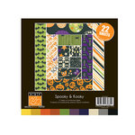 Bazzill Basics - Spooky and Kooky Collection - Halloween - 8 x 8 Assortment Pack