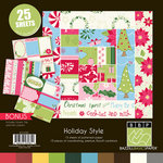 Bazzill - Holiday Style Collection - Christmas - 12 x 12 Assortment Pack