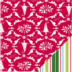 Bazzill Basics - Holiday Style Collection - Christmas - 12 x 12 Double Sided Paper - Classic Christmas