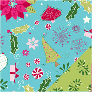 Bazzill - Holiday Style Collection - Christmas - 12 x 12 Double Sided Paper - Merry Mix