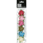 Bazzill - Divinely Sweet Collection - Paper Flowers - Twisted