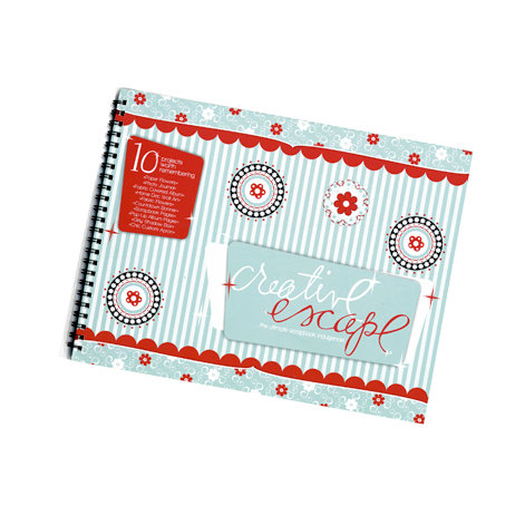 Bazzill Basics - Creative Escape Idea Book - 2011