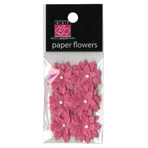 Bazzill Basics - Avalon Collection - Paper Flowers - Passionate