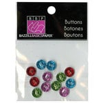Bazzill Basics - Buttons - Mini Modern - Bright