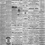Bazzill - Antique Collection - 12 x 12 Paper - Newsprint