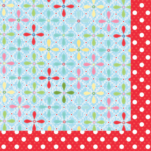 Bazzill Basics - Avalon Collection - 12 x 12 Double Sided Paper - Daisy
