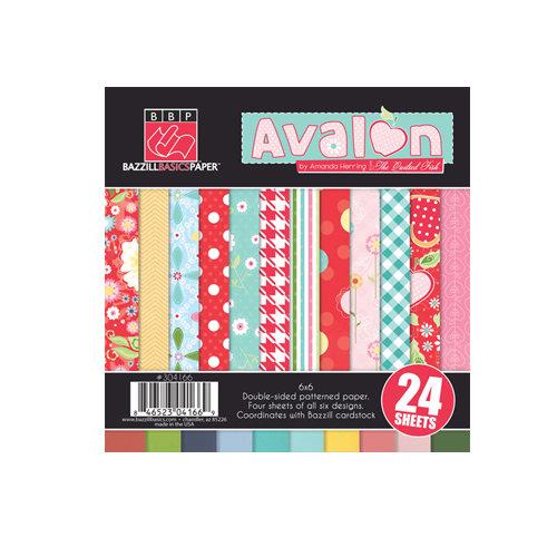 Bazzill Basics - Avalon Collection - 6 x 6 Assortment Pack