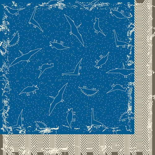Bazzill Basics - Dino-Mite Collection - 12 x 12 Double Sided Paper - Constellations