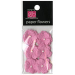 Bazzill - Margie Romney-Aslett - Vintage Marketplace Collection - Paper Flowers - Piglet
