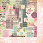 Bazzill Basics - Margie Romney-Aslett - Vintage Marketplace Collection - 12 x 12 Double Sided Paper - Market Ads