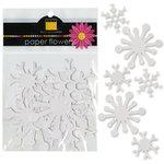 Bazzill Basics - Paper Shapes - Snowflakes
