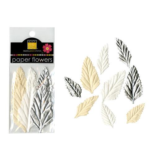Bazzill Basics - Paper Shapes - Leaves - Natural Assortment