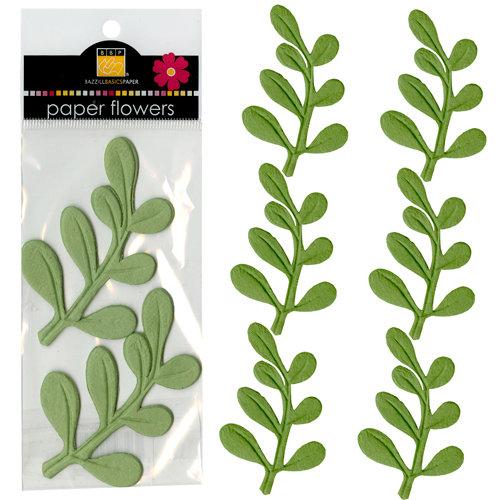 Bazzill - Paper Shapes - Leaves - Leapfrog Eucalyptus