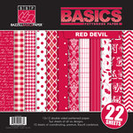 Bazzill - Basics Collection - 12 x 12 Assortment Pack - Red Devil