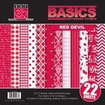 Bazzill Basics - Basics Collection - 12 x 12 Assortment Pack - Red Devil