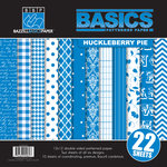 Bazzill Basics - Basics Collection - 12 x 12 Assortment Pack - Huckleberry Pie