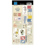 Bazzill Basics - Beach House Collection - Cardstock Stickers