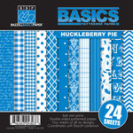 Bazzill - Basics Collection - 6 x 6 Assortment Pack - Huckleberry Pie