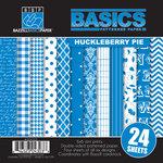 Bazzill - Basics Collection - 6 x 6 Assortment Pack - Huckleberry Pie
