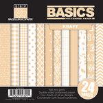Bazzill Basics - Basics Collection - 6 x 6 Assortment Pack - Kraft