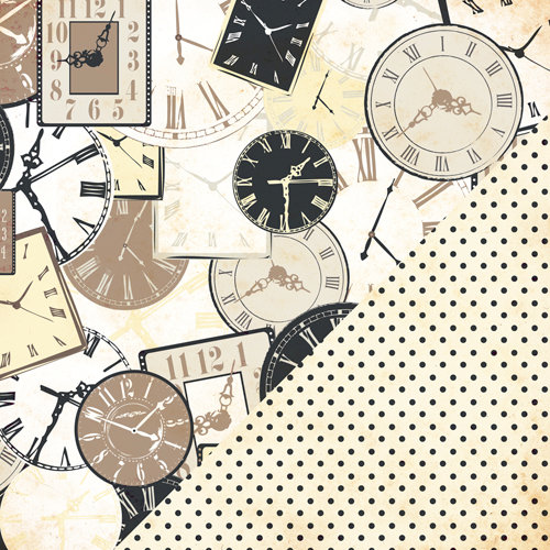 Bazzill Basics - Margie Romney-Aslett - Timeless Collection - 12 x 12 Double Sided Paper - Timeless