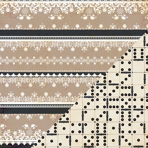 Bazzill Basics - Margie Romney-Aslett - Timeless Collection - 12 x 12 Double Sided Paper - Boudoir