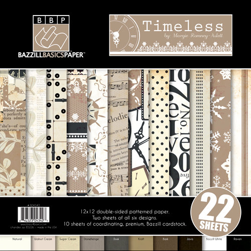 Bazzill - Margie Romney-Aslett - Timeless Collection - 12 x 12 Assortment Pack