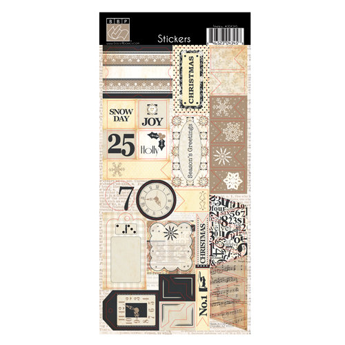 Bazzill Basics - Margie Romney-Aslett - Timeless Collection - Cardstock Stickers