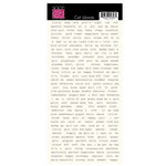 Bazzill - Miss Teagen Sue Collection - Cardstock Stickers - Girl Words