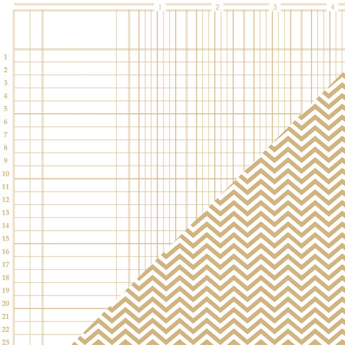 Bazzill - Basics Collection - 12 x 12 Double Sided Paper - Kraft - Bookkeeper