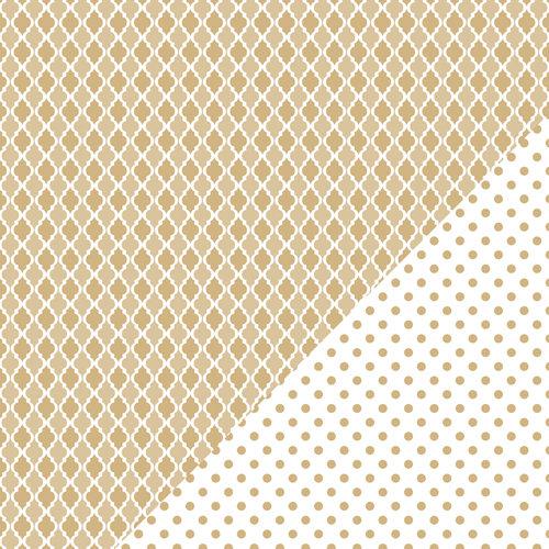 Bazzill Basics - Basics Collection - 12 x 12 Double Sided Paper - Kraft - Mosaic