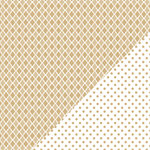 Bazzill - Basics Collection - 12 x 12 Double Sided Paper - Kraft - Mosaic