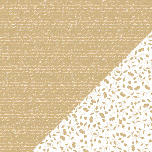 Bazzill Basics - Basics Collection - 12 x 12 Double Sided Paper - Kraft - Sonnet