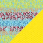 Bazzill - School Days Collection - 12 x 12 Double Sided Paper - School Days