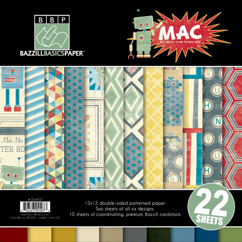 Bazzill - Mac Collection - 12 x 12 Assortment Pack